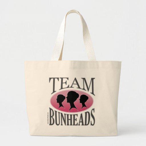 Équipe Bunheads (personnalisable) Sacs Fourre-tout