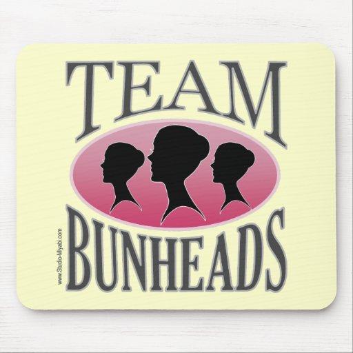 Équipe Bunheads (personnalisable) Tapis De Souris