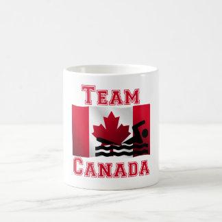 Équipe canadienne de natation Canada de drapeau Tasses À Café