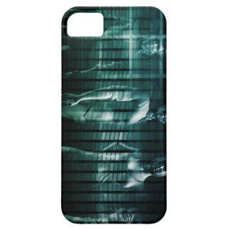 Équipe d'affaires avec l'expression sérieuse coques Case-Mate iPhone 5