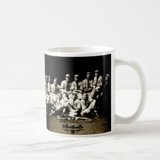 Équipe de baseball 1917 tasses à café