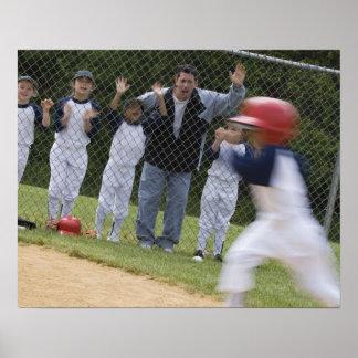 Équipe de baseball posters