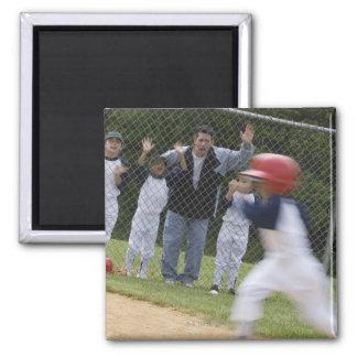 Équipe de baseball aimants