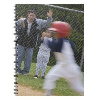 Équipe de baseball carnet