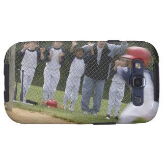 Équipe de baseball coque galaxy SIII