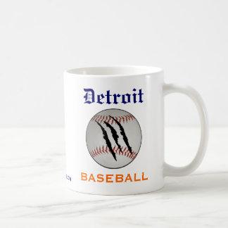 Équipe de baseball de Detroit Mug À Café