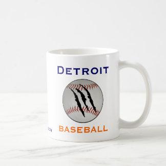 Équipe de baseball de Detroit Mug