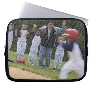 Équipe de baseball housses ordinateur portable
