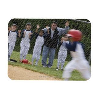 Équipe de baseball magnets