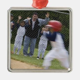 Équipe de baseball ornements de noël