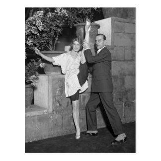 Équipe de danse de cabaret, les années 1920 cartes postales