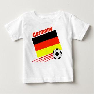 Équipe de football allemande t-shirt pour bébé