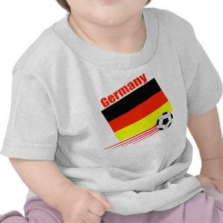 Équipe de football allemande t-shirts