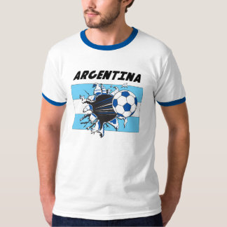 Équipe de football de football de l'Argentine T-shirt