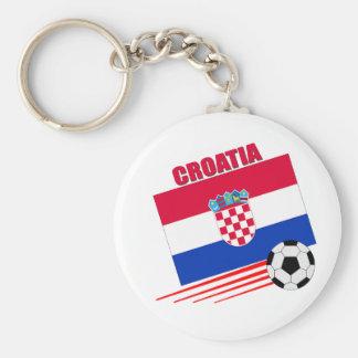 Équipe de football de la Croatie Porte-clé Rond