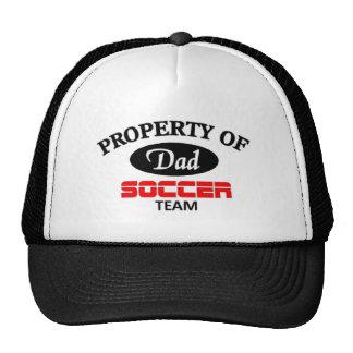 Équipe de football de papas casquette trucker
