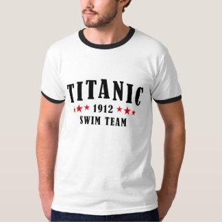 Équipe de natation 1912 de Titanic Tee-shirt