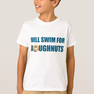 Équipe de natation, cadeau personnalisé de nageur t-shirt