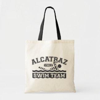Équipe de natation noire Fourre-tout d'Alcatraz Sac En Toile Budget
