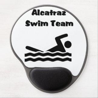 Équipe de natation tapis de souris en gel