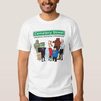 Équipe de rue de cimetière tshirt
