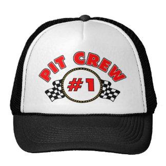 Équipe du stand de ravitaillement #1 casquettes