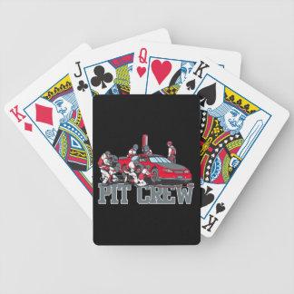 Équipe du stand de ravitaillement cartes à jouer