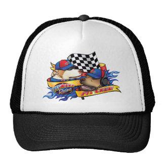 Équipe du stand de ravitaillement casquettes de camionneur
