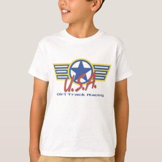 Équipe du stand de ravitaillement de cendrée des t-shirt