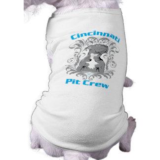 Équipe du stand de ravitaillement de Cincinnati -  Manteau Pour Animal Domestique