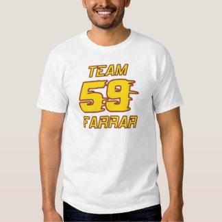 Équipe du stand de ravitaillement de Farrar Tee Shirt
