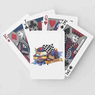 Équipe du stand de ravitaillement jeux de cartes