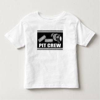 Équipe du stand de ravitaillement (pneus) tee-shirts
