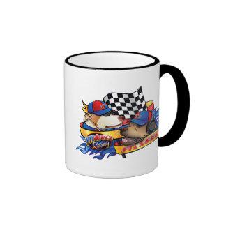 Équipe du stand de ravitaillement mug à café