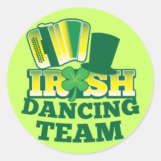 ÉQUIPE irlandaise de danse Autocollants