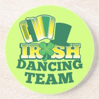ÉQUIPE irlandaise de danse Dessous De Verres