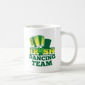 ÉQUIPE irlandaise de danse Mug Blanc