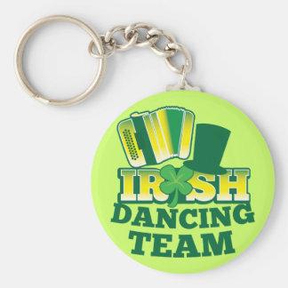ÉQUIPE irlandaise de danse Porte-clés