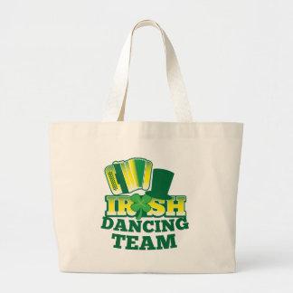 ÉQUIPE irlandaise de danse Sac En Toile