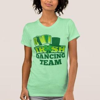 ÉQUIPE irlandaise de danse T-shirts