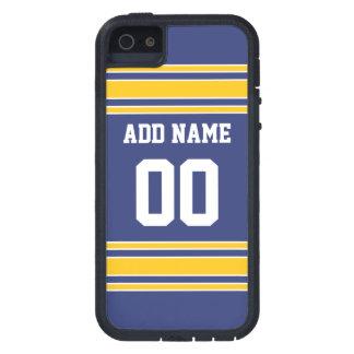 Équipe Jersey avec le nom et le nombre faits sur Coques Case-Mate iPhone 5