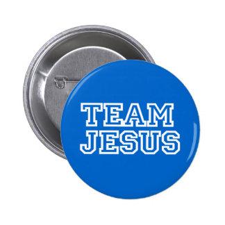 Équipe Jésus Badge Avec Épingle