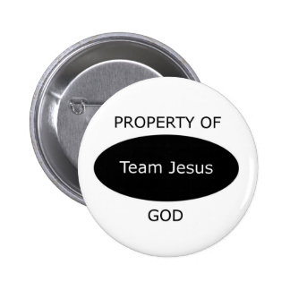 Équipe Jésus Badges Avec Agrafe