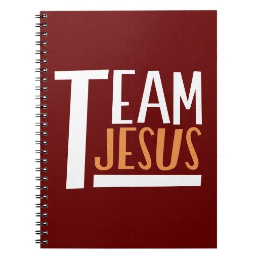 Équipe Jésus Carnets À Spirale
