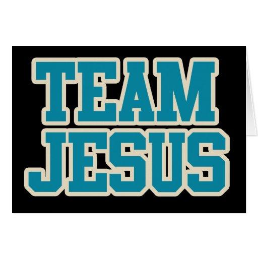 Équipe Jésus Carte De Vœux