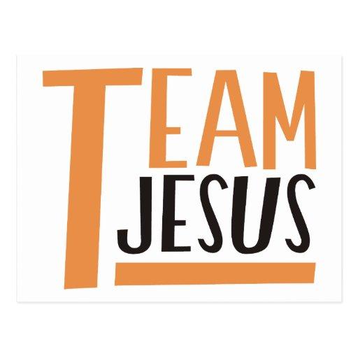Équipe Jésus Carte Postale