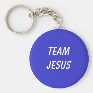Équipe Jésus Keychain Porte-clés