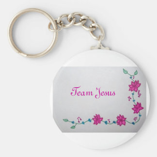 Équipe Jésus Keychain Porte-clef