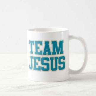 Équipe Jésus Mug Blanc