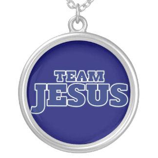 Équipe Jésus Pendentif Rond